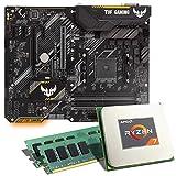 AMD Ryzen 7 2700X / ASUS TUF B450-PLUS Gaming Mainboard Bundle / 16GB | CSL PC Aufrüstkit | AMD Ryzen 7 2700X 8X 3700 MHz, 16GB DDR4-RAM, GigLAN, 7.1 Sound, USB 3.1 | Aufrüstset | PC Tuning Kit