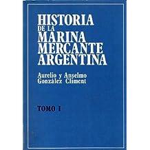 HISTORIA DE LA MARINA MERCANTE ARGENTINA (4 tomos)