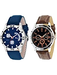 On Time Octus Combo Of 2 Analog Watch For Boys And Mens- OT-205-212