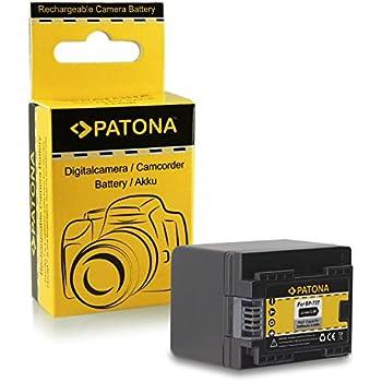 Batterie BP-727 BP727 pour Canon LEGRIA HF M52 | HF M56 | HF M506 | HF R36 | HF R37 | HF R38 | HF R46 | HF R47 | HF R48 | HF R306 | HF R406 - Canon VIXIA HF M50 | HF M52 | HF M500 | HF R30 | HF R32 | HF R40 | HF R42 | HF R300 | HF R400 et bien plus encore… [ Li-ion; 2400mAh; 3.6V ]