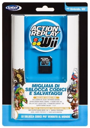 Datel DA305333 Wii Action Replay Cheat