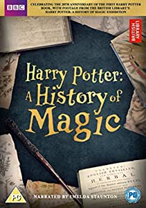 Harry Potter: A History of Magic [DVD] [2017]