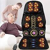 J.SM Massagekissen-Shiatsu und das Abtasten voll Rückenvibration Autositz Massagekissen Rückenmassage Kissen-Auto-Home-Office-Nutzung