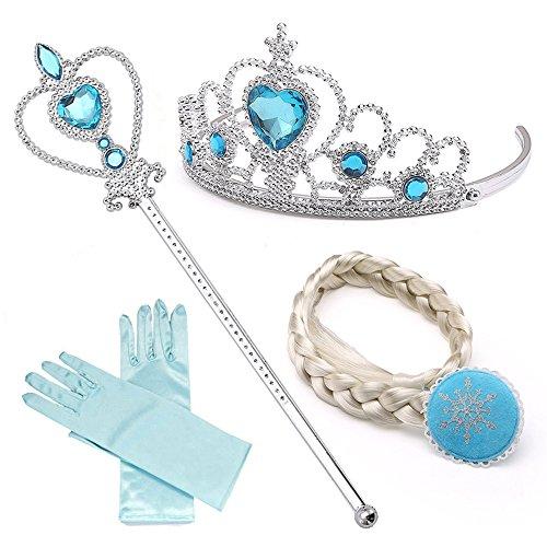 NNDOLL Accesorios Princesa de Hielo Elsa