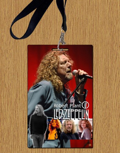Robert Plant Led Zeppelin Replica Backstage Durchlauf With lanyard