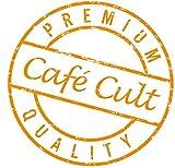 1kg - Café Cult - Marzipan-Cappuccino - aromatisierter Röstkaffee - ganze Bohnen