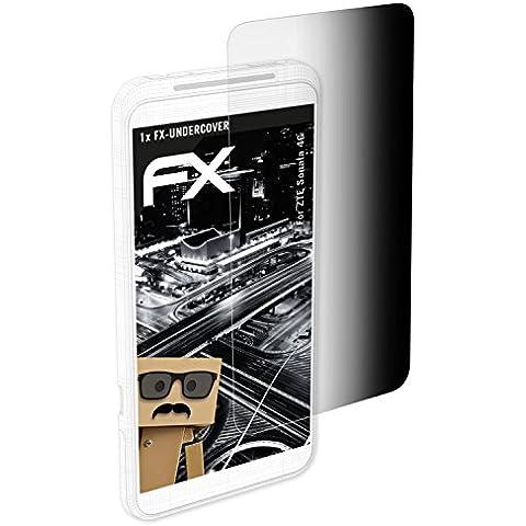atFoliX Filtro Privacy ZTE Sonata 4G Pellicola protezione vista - FX-Undercover