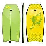 """GYMAX Body Board 42""""(106cm) EPS+IXPE Lightweight Bodyboard Beach Float Wave Core Surfing Board"""