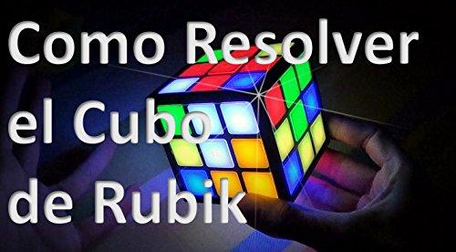 Como Resolver el cubo de Rubik por San Goo
