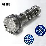 Bluelover B 41 LED de UV Ultra Violeta linterna LED AAA