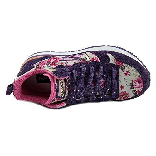 Skechers Retrospect Hollywood Rose High Toile Chaussure de Tennis Purple-Pink