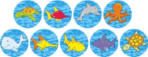 234 Unterwasser-Lob-Aufkleber Lehrer Sticker Kinder