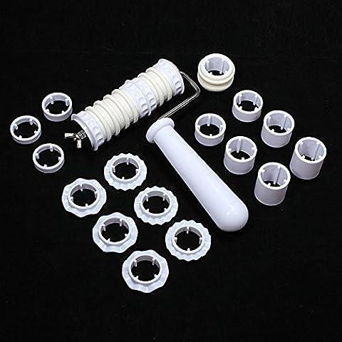 Paleo Fondant harina de torta del cortador de azúcar conjunto impresora herramienta de la barra de decoración