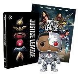 Justice League Steelbook + Poster + Funko Cyborg