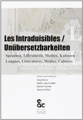Les intraduisibles / unubersetzbarkeitein