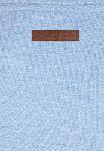 Naketano Male Hoody Supapimmel IX Amazing blue Melange