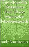 Encyclopedia Britannica Part 29 ass iwwersetze lëtzebuergesch (Luxembourgish Edition)