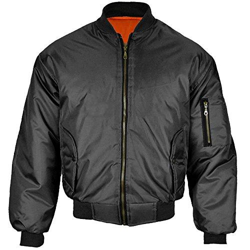 Army And Workwear Herren Jacke, Einfarbig Schwarz Schwarz Gr. XX-Large, Schwarz (Uniform Coat Army Combat)