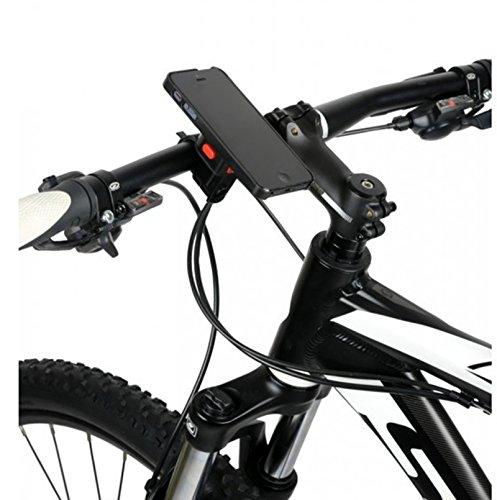 Soporte Completo para Telefono Movil Smartphone iPhone 4 4S 5 5C 5S ZEFAL Z CONSOLE LITE a manillar de Bicicleta 3593