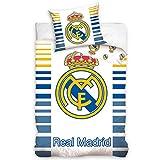 2 tlg Kinderbettwäsche Bettwäsche 160x200 948 Real Madrid