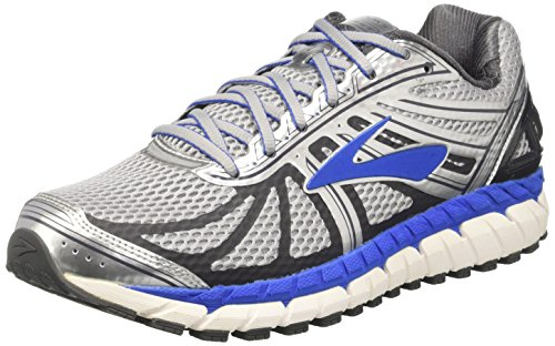 Brooks Men's Beast 16 Training Running Shoes, Grey (Grey 005), 10 UK...