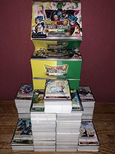 Lot 50 Cartes sans Double Dragon Ball Version Francaise + 1 Rare!