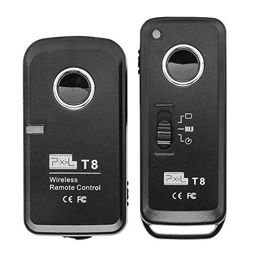 Píxel T8 / E3 Timer inalámbrico disparador de control remoto para Canon DSLR