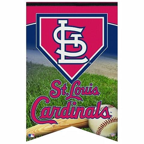 MLB St. Louis Cardinals Premium Felt Banner 17-by-26 inch