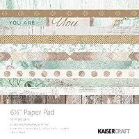 "Kaisercraft Paper Pad 6.5""X6.5"" 40/Pkg-Memory Lane"