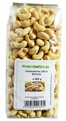 Cashewkerne -320er - unbehandelt - 500 g bis 10 kg