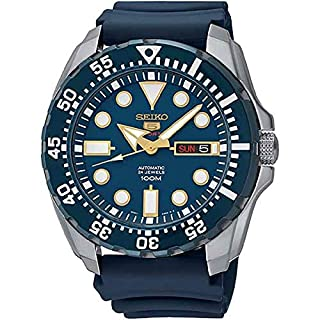 Seiko Men's Analogue Automatic Watch with Silicone Strap - SRP605K2 (B00SCPUXNO) | Amazon Products