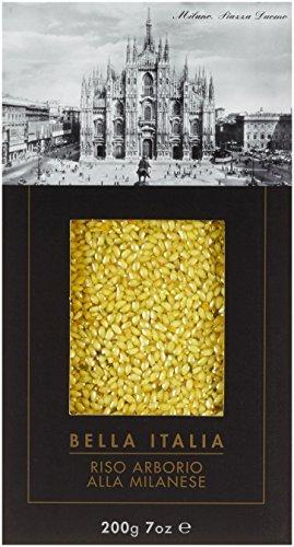 Antico Pastificio Umbro Riso Arborio alla milanese 'Bella Italia' - Risotto mit Safran, 4er Pack (4 x 200 g)