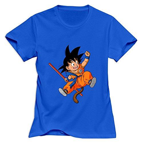 u von Dragon Ball T-shirt 100% Baumwolle Hot Thema Gr. M, Königsblau (Text Halloween-symbole)