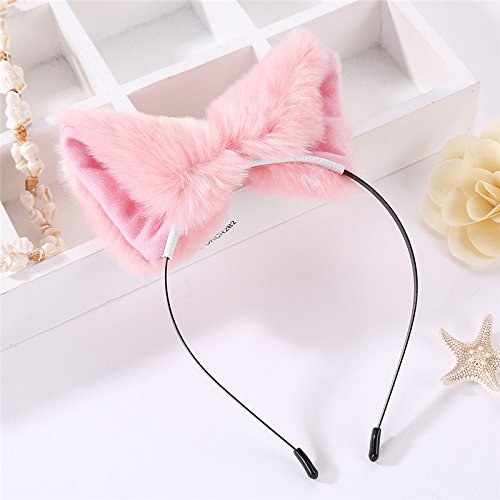 Wicemoon Haarspangen für Frauen oder jüngere Mädchen, Katzenohren-Form, für Partys und Alltag, tolle Geschenkidee