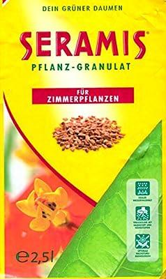 Seramis Ton-Granulat als Pflanzenerden-Ersatz für Topfpflanzen, Grün-, Blühpflanzen und Kräuter, Pflanz-Granulat, Ton-Farbe
