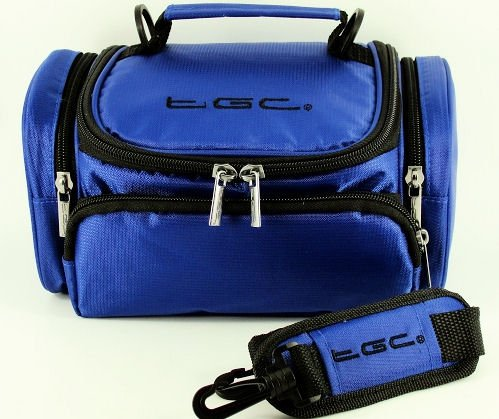tgc-blue-shoulder-camera-case-for-fujifilm-slr-finepix-hs20exr-hs25exr-hs30exr-hs35exr-hs50exr-s2980