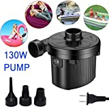 KERUITA Electric Pump for Inflatables Airbed Mattress Pump Paddling Pools Toys Inflatable Pump