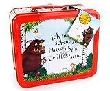 DER GRÜFFELO Blechkoffer Metall Koffer Brotbüchse LUNCHBOX