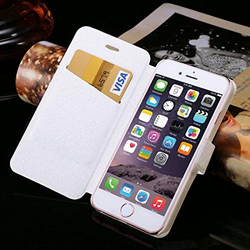 Phone case & Hülle Für IPhone 6 / 6s, Diamant verkrustete Sonnenblume Perle Bell Muster Horizontale Flip Leder Tasche mit magnetischen Wölbung & Card Slots ( SKU : IP6G1066C ) IP6G1066J