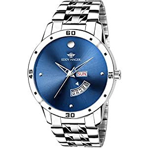 Eddy Hager Analogue Blue Dial Men's Watch – EH-210-BL