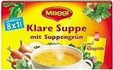 Maggi klare Suppe m.Suppengrün, 6er Pack (ergibt 6 x 8 Liter)