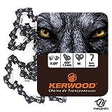 Chaine pour ECHO CS520 0,325 1,3 mm 66 maillons. Kerwood - Pièce neuve