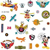 RoomMates Disney Mickeys Clubhouse Pilot Wall Stickers