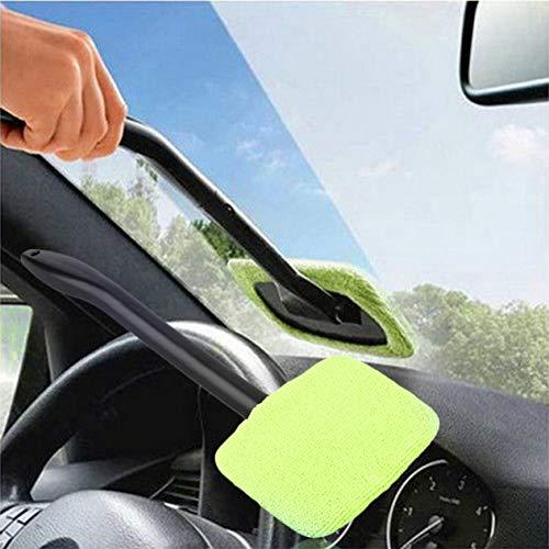 Portatile-in-plastica-Parabrezza-Facile-Cleaner-Easy-microfibra-Clean-finestra-sulla-vostra-auto-o-casa-lavabile-veloce-Facile-lustro-Handy