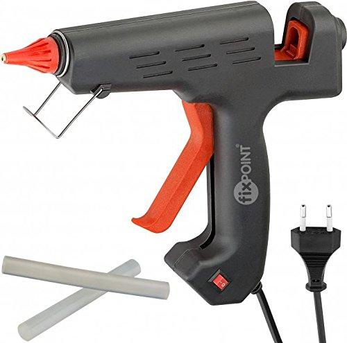 Preisvergleich Produktbild Fixpoint 59177 200W Heißklebepistole mit Schalter für 12mm Klebesticks zum sauberen Kleben für den professionellen Bereich