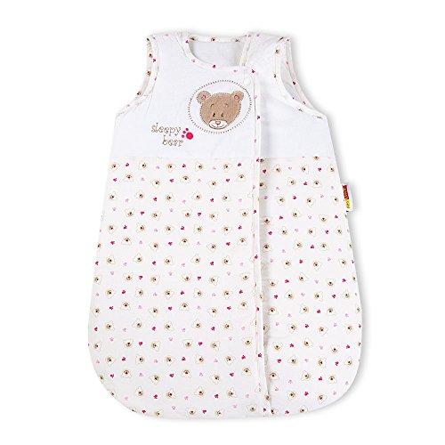 Babybettset Schlafsack Fußsack Krabbeldecke Bett-Tasche Lätzchen Wickelauflage, Typ:Schlafsack