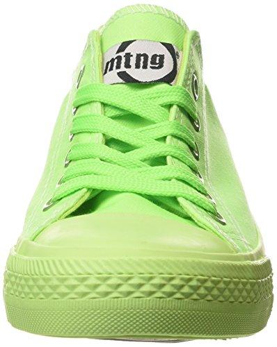 MTNG Attitude tennis - Sneakers CANVAS FLUOR VERDE