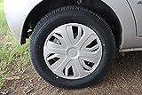 #7: VAIBN - Premium Quality Full Wheel Cover Cap TATA INDICA VISTA 14 INCH SILVER