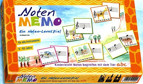 Noten-Memo Noten-Lernspiel