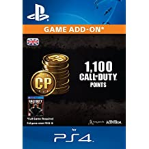 Image of 1,000 (+100 Bonus) Call of Duty Points [PS4 PSN Code - UK account] - Comparsion Tool